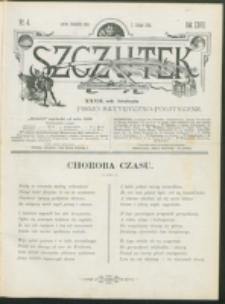 Szczutek : pisemko humorystyczne. R. 27, nr 4 (1895)
