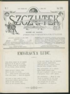 Szczutek : pisemko humorystyczne. R. 27, nr 7 (1895)