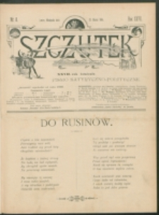 Szczutek : pisemko humorystyczne. R. 27, nr 8 (1895)