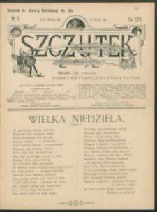 Szczutek : pisemko humorystyczne. R. 27, nr 11 (1895)
