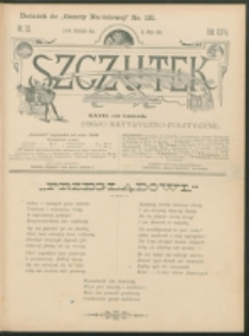 Szczutek : pisemko humorystyczne. R. 27, nr 13 (1895)