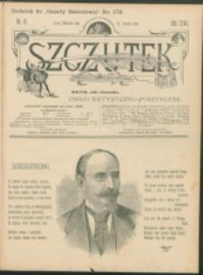 Szczutek : pisemko humorystyczne. R. 27, nr 16 (1895)