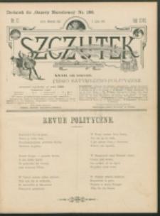 Szczutek : pisemko humorystyczne. R. 27, nr 17 (1895)