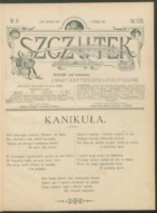 Szczutek : pisemko humorystyczne. R. 27, nr 19 (1895)