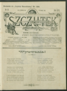 Szczutek : pisemko humorystyczne. R. 27, nr 28 (1895)