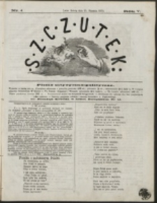 Szczutek : pisemko humorystyczne. R. 5, nr 4 (1873)