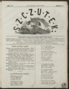 Szczutek : pisemko humorystyczne. R. 5, nr 14 (1873)