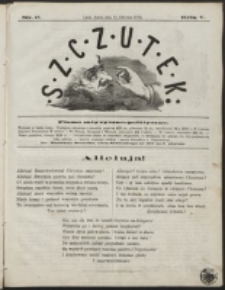 Szczutek : pisemko humorystyczne. R. 5, nr 15 (1873)