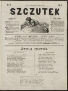 Szczutek : pisemko humorystyczne. R. 5, nr 25 (1873)