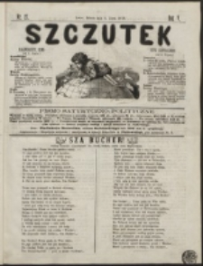 Szczutek : pisemko humorystyczne. R. 5, nr 27 (1873)