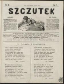Szczutek : pisemko humorystyczne. R. 5, nr 32 (1873)