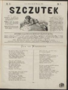Szczutek : pisemko humorystyczne. R. 5, nr 37 (1873)