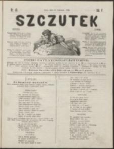 Szczutek : pisemko humorystyczne. R. 5, nr 40 (1873)