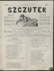 Szczutek : pisemko humorystyczne. R. 6, nr 4 (1874)