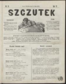 Szczutek : pisemko humorystyczne. R. 6, nr 21 (1874)