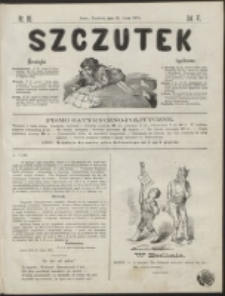 Szczutek : pisemko humorystyczne. R. 6, nr 29 (1874)