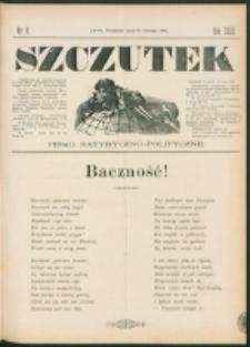 Szczutek : pisemko humorystyczne. R. 23, nr 6 (1891)