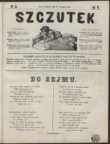 Szczutek : pisemko humorystyczne. R. 6, nr 38 (1874)