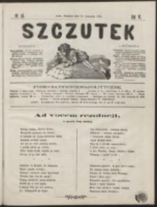 Szczutek : pisemko humorystyczne. R. 6, nr 46 (1874)