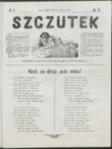 Szczutek : pisemko humorystyczne. R. 7, nr 5 (1875)