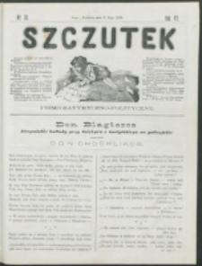 Szczutek : pisemko humorystyczne. R. 7, nr 18 (1875)