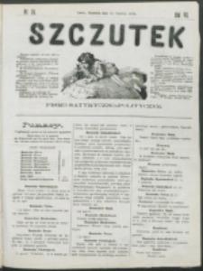 Szczutek : pisemko humorystyczne. R. 7, nr 24 (1875)