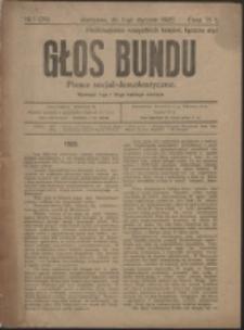 Głos Bundu. Nr 1=24 (1920)