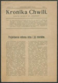 Kronika Chwili. R.1, z. 5 (1919)