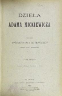 Dzieła Adama Mickiewicza. T. 3.