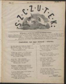 Szczutek : pisemko humorystyczne. R. 5, nr 6 (1873)