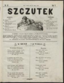 Szczutek : pisemko humorystyczne. R. 5, nr 22 (1873)
