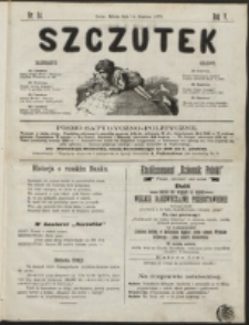 Szczutek : pisemko humorystyczne. R. 5, nr 24 (1873)