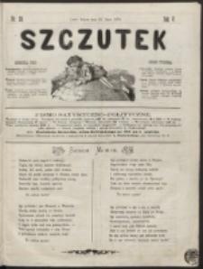 Szczutek : pisemko humorystyczne. R. 5, nr 28 (1873)