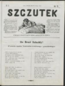Szczutek : pisemko humorystyczne. R. 7, nr 9 (1875)
