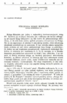 Struktura Księgi Koheleta. Opinie egzegetów.