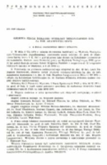 Kronika Sekcji Biblijnej Wydziału Teologicznego KUL na rok akademicki 1974/75.