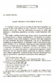 Ślady tradycji synajskiej Ps 68.