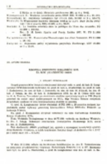 Kronika Instytutu Biblijnego KUL za rok akademicki 1980/81.