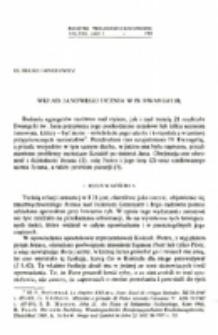 Wkład Janowegu ucznia w IV Ewangelię.