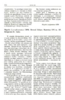 Recenzja : Hugolin Langkammer OFM. Słownik biblijny. Katowice 1981 ss. 168. Księgarnia św. Jacka.