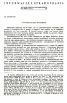 Typy genealogii biblijnych.
