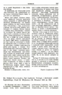 Recenzja : Ks. Gisbert Greshake , Być kapłanem. Teologia i duchowość urzędu kapłańskiego. Przeł. K. Wójtowicz CR. Wrocław 1983 ss. 206.