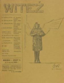 Witeź. R. 1, z. 3 (1908)