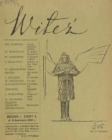 Witeź. R. 1, z. 6 (1908)