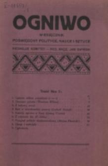 Ogniwo. R. 1, nr 2 (1920)