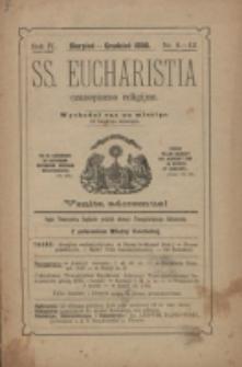 SS. Eucharistia. R. 4, nr 8/12 (1898)