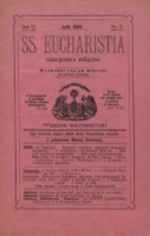 SS. Eucharistia. R. 6, nr 2 (1900)