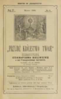 Przyjdź Królestwo Twoje Eucharystyczne. R. 4, nr 3 (1898)