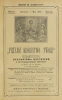 Przyjdź Królestwo Twoje Eucharystyczne. R. 4, nr 4/5 (1898)