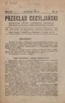 Przegląd Cecyljański. R. 2, nr 11 (1920)